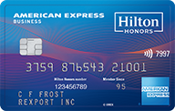 Hilton Honors Business Card